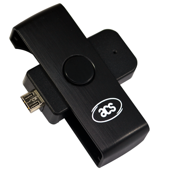 ACR39U-ND PocketMate II Micro USB Smart Card Reader