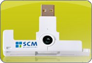 SCM SCR3500 - SmartFold: USB Smart Card Reader